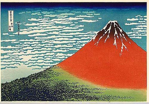 Image result for hokusai mount fuji