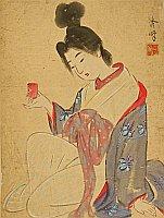 Shuho Yamakawa 1898-1944 - Tipsy Lady