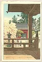 Hasui Kawase 1883-1957 - Myohonji Temple
