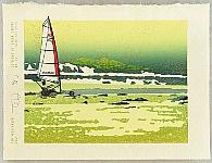 Tom Kristensen born 1962 - 36 Views of Green Island - 23 - Wind and Rain