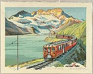 Osamu Sugiyama born 1946 - Bernina Railway - Switzerland