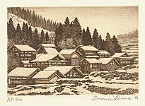 Brian Williams born 1950 - Snow Village