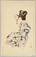 Tatsumi Shimura 1907-1980 - Five Figures of Modern Beauties - Marumage