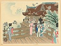 Tobei Kamei 1901-1977 - Kiyomizu Temple