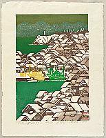 Gagyu Ueda born 1921 - Fishing Harbor