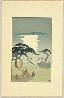 Hiromitsu Nakazawa 1874-1964 - The Tale of Genji - Akashi