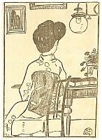 Toyonari Yamamura 1885-1942 - Sitting on a Chair