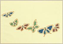 Sekka Kamisaka 1866-1942 - Thousand (or All Kinds of ) Butterflies - 26