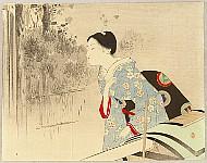 Toshikata Mizuno 1866-1908 - Hatred of Ogi