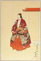 Kogyo Tsukioka 1869-1927 - One Hundred Noh Plays - Empress Yoki