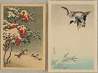 Koson Ohara 1877-1945 - Sparrows, Mallards