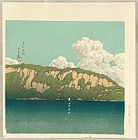 Hasui Kawase 1883-1957 - Twelve Famous Sceneries - Lake Towada