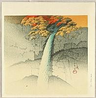 Hasui Kawase 1883-1957 - Twelve Famous Sceneries - Kegon Waterfall