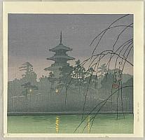 Hasui Kawase 1883-1957 - Twelve Famous Sceneries - Sarusawa Pond