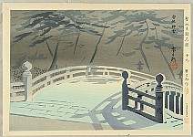 Tomikichiro Tokuriki 1902-1999 - Famous Historic Places and Holy Places - Usa Shrine