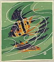 Gekka Minagawa 1892-1987 - Collection of Works by Gekka Minagawa - Tropical Fish