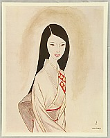 Keiichi Takasawa 1914-1984 - Takasawa Keiichi Self Selected Works Collection - Girl