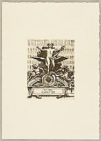 Tokio Miyashita born 1930 - Ex-libris Scenery of New York - Grand Central Station