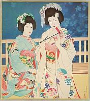 Shinsui Ito 1898-1972 - Two Dancers