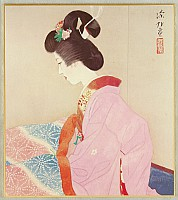 Shinsui Ito 1898-1972 - Foot Warmer