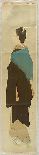 Kiyokata Kaburagi 1878-1973 - The Manners and Customs of the Beauties in Meiji Era - Moon
