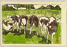 Yoshiei Hando 1913 - ? - Cows