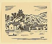 Unichi Hiratsuka 1895-1997 - Castle on a Mountain