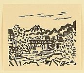 Unichi Hiratsuka 1895-1997 - Landscape