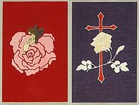 Unknown - Handmade Woodblock Envelopes - Rose
