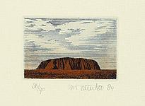 Chris van Otterloo born 1950 - Ayers Rock II