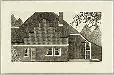 Chris van Otterloo born 1950 - Dutch Farm House