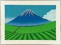 Katsushi Aiwa born 1957 - Mt. Fuji in Summer