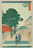 Hiroshige II Utagawa 1829-1869 - 36 Famous Views of the Eastern Capital - Yanagishima