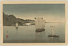 Kason Suzuki 1860-1919 - Kominato Harbor
