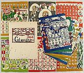 Keisuke Serisawa (Serizawa) 1895-1984 - Calendar - 1964