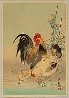 Sozan Ito 1884-? - Chicken Family