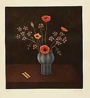 Taira Motomura born 1937 - Blue Vase
