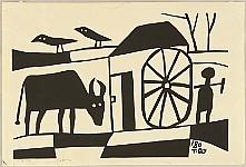 Takeji Asano 1900-1999 - Water Mill