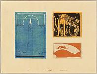 Hisui Sugiura 1876-1965 - Collection of Creative Designs by Hisui - Marmaid, Candle, Fish