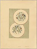 Hisui Sugiura 1876-1965 - Collection of Creative Designs by Hisui - Decorative Plates of Chicken