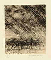 Shigeki Tomura fl.ca. 1970-90. - Trees in Storm