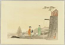 Gekko Ogata 1859-1920 - One Hundred Views of Mt. Fuji - Water Spout