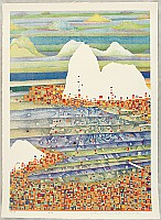 Risaburo Kimura born 1924 - Great Cities of the World - Rio de Janeiro