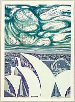 Risaburo Kimura born 1924 - Great Cities of the World - Sydney