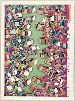Risaburo Kimura born 1924 - Great Cities of the World - New York
