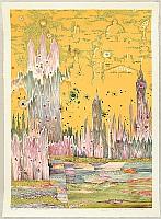 Risaburo Kimura born 1924 - Great Cities of the World - London