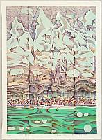 Risaburo Kimura born 1924 - Great Cities of the World - Geneva