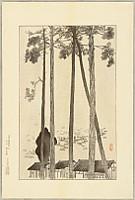 Kyuho Noda 1879-1971 - Famous Places in Hanshin, No. 16  Aotani