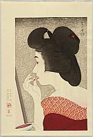 Kotondo Torii 1900-1976 - Twelve Aspects of Women - Rouge