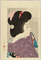 Kotondo Torii 1900-1976 - Twelve Aspects of Women - Hazy Spring